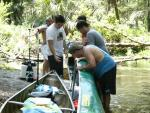 How many game developers does it take to lift a canoe?