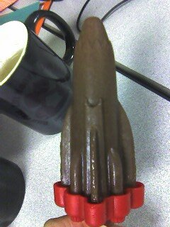 Chocolate protein fudgsicle