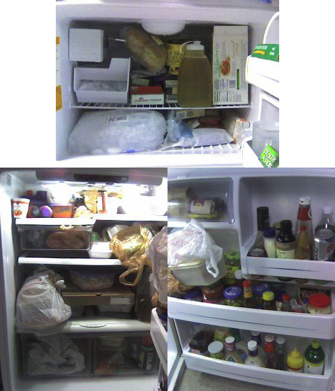 The Fridge….Before