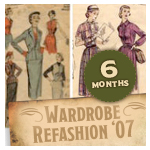 Wardrobe Refashion 6-Month Pledge