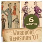 Wardrobe Refashion 6-Month Pledge