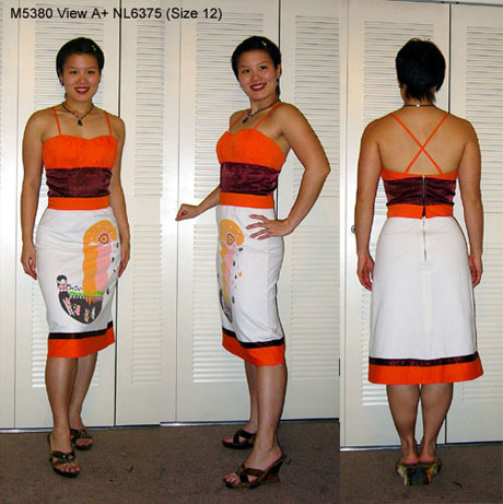 M5380 Happy Harvest Dress